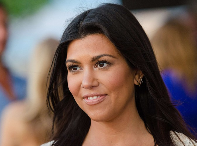 Kourtney Kardashian à Bridgehampton le 9 août 2014