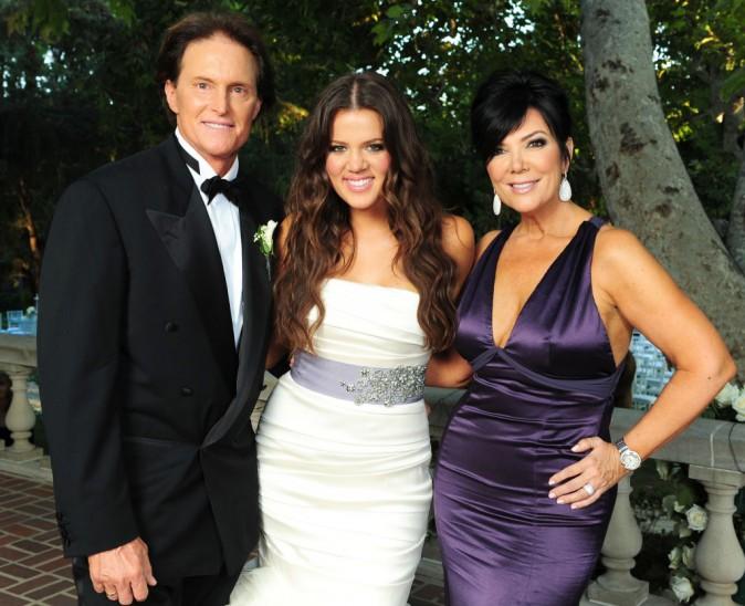 Bruce, Kris et Khloé Kardashian !