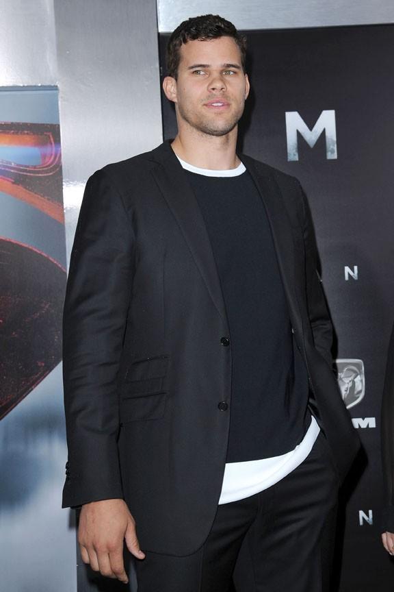 Kris Humphries à l'avant-première de Man of Steel à New-York le 10 juin 2013