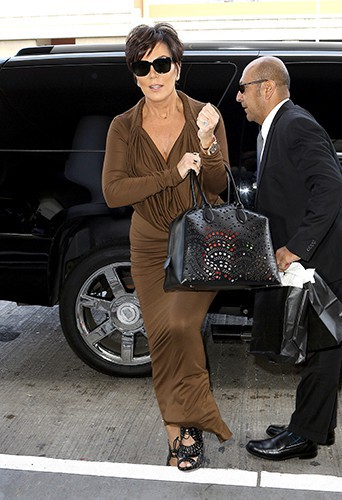 Kris Jenner à Los Angeles le 9 juin 2014