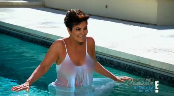 """Kris Jenner dans le dernier épisode de """"L'incroyable famille Kardashian"""""""