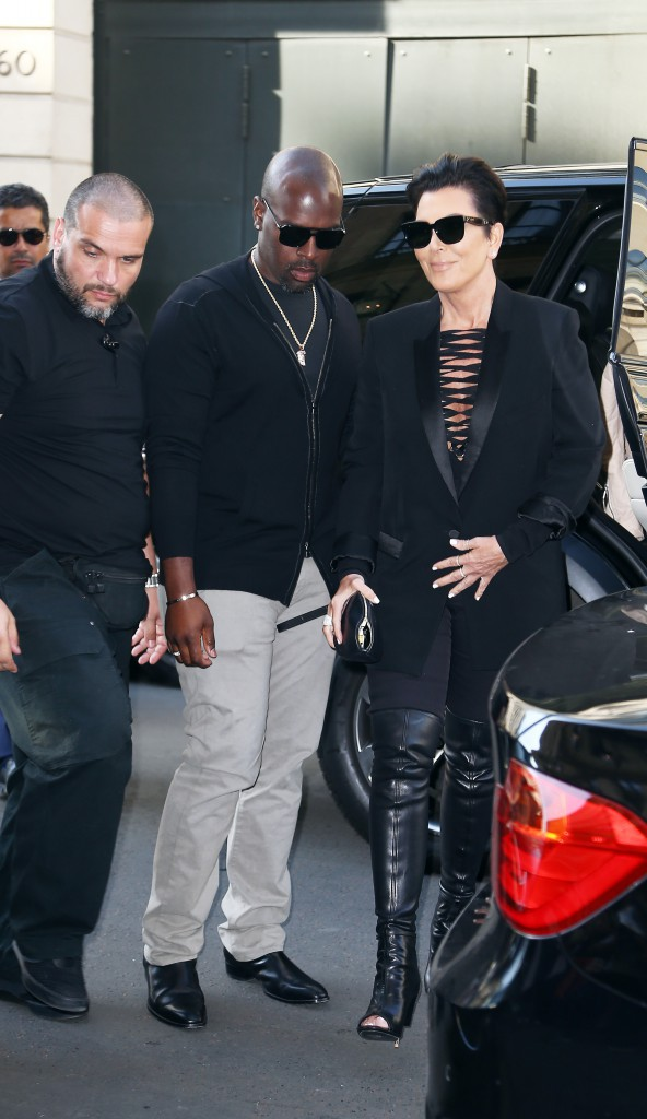 Photos : Kris Jenner : voyage romantique à Paris avec son toyboy !