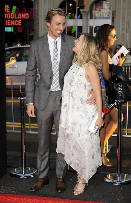Photos : Kristen Bell : enceinte et amoureuse aux côtés de son mari pour une première hollywoodienne !