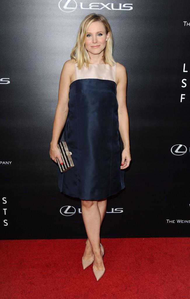 Kristen Bell : jolie comme un coeur, la future maman rayonne sur le tapis rouge !