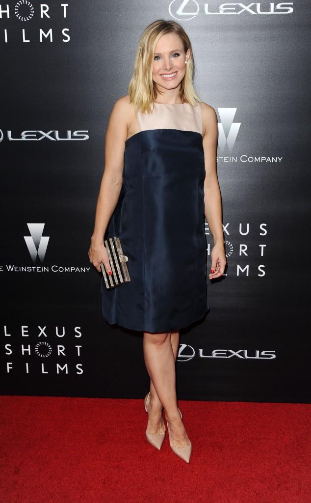 Kristen Bell était très en beauté à l'occasion de la première du festival des films courts organisé par la marque Lexus, le 30 juillet à Lo...