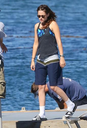 Kristen Stewart à Los Angeles le 17 juillet 2013