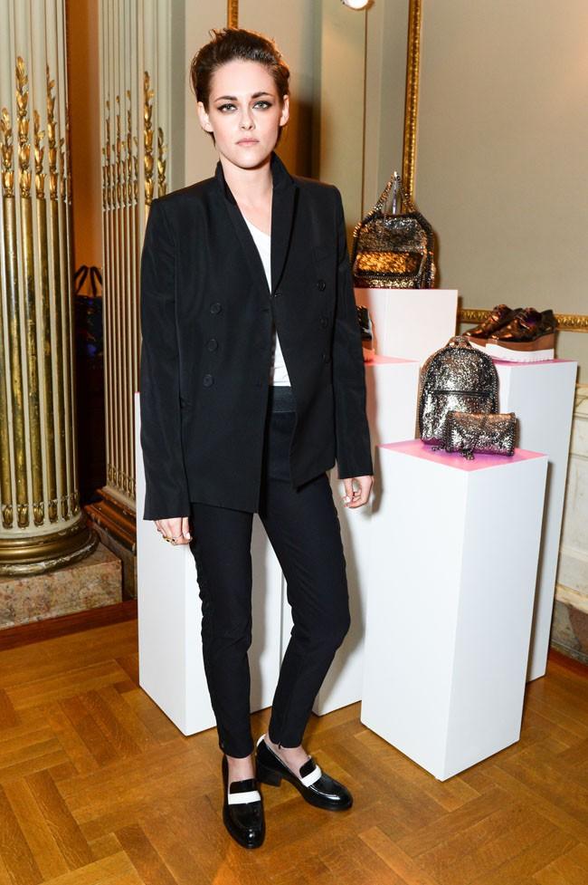 Kristen Stewart à New-York le 12 janvier 2015