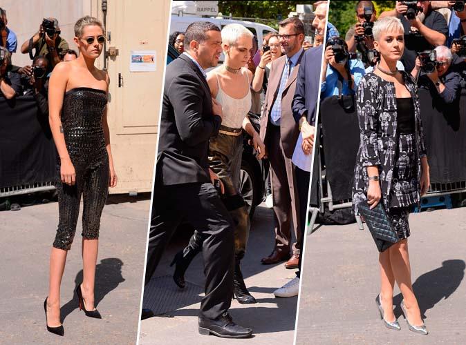 Kristen Stewart, Cara Delevingne, Katy Perry... il fallait avoir les cheveux courts chez Chanel !