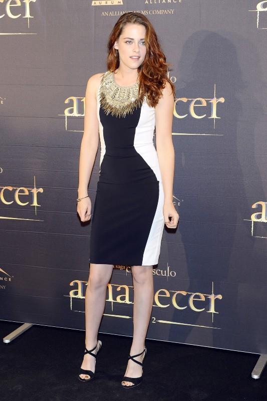 Kristen Stewart en promo à Madrid, le 15 novembre 2012.