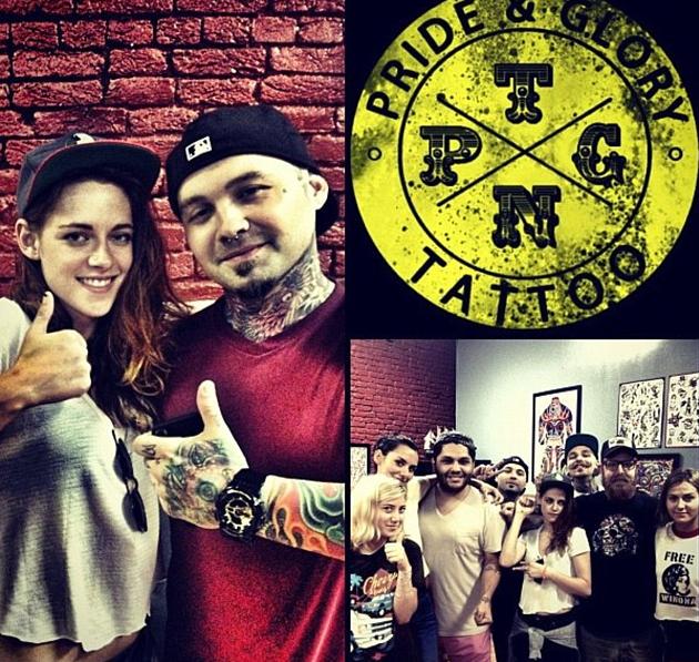 Kristen Stewart s'est faîte tatouée