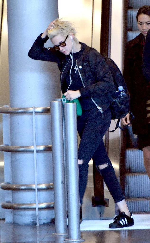 Kristen Stewart à Paris le 13 octobre 2016