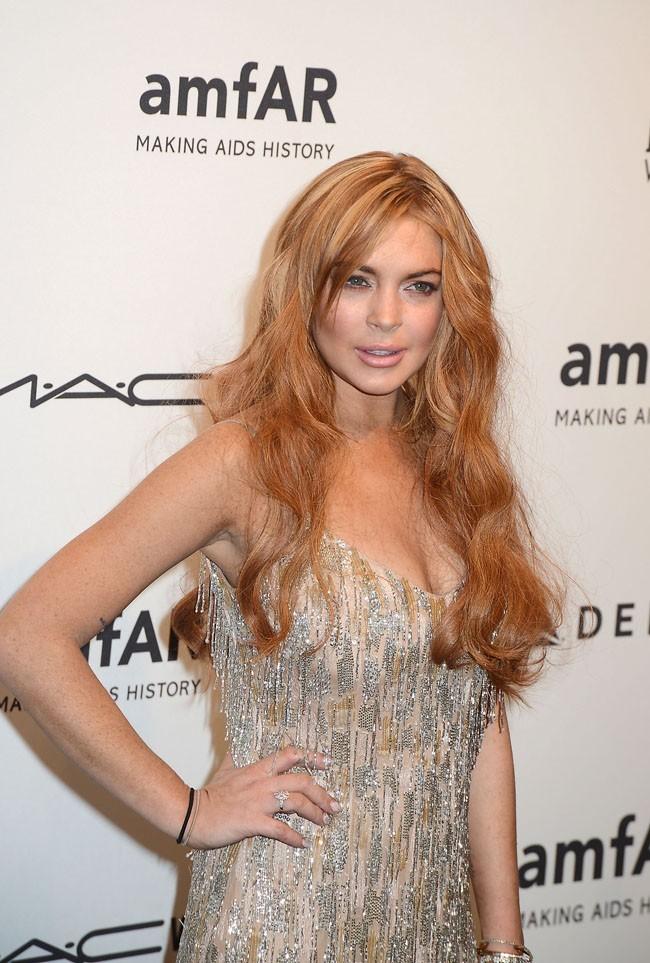 Lindsay Lohan, troisième du classement des stars les moins sexy