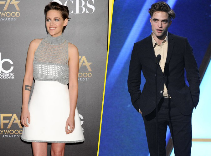 Kristen Stewart et Robert Pattinson : les ex-amoureux se retrouvent à la cérémonie des Hollywood Film Awards !