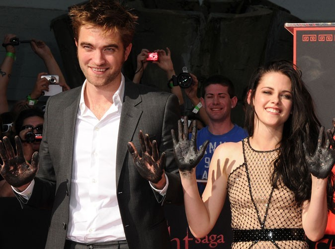 Kristen Stewart et Robert Pattinson en 2011
