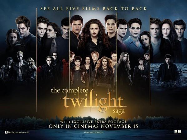 Twilight Révélation, les affiches...