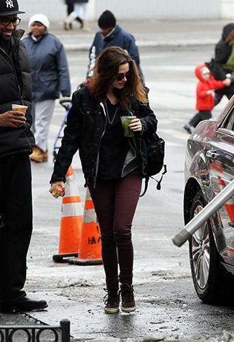 Kristen Stewart à New-York le 3 mars 2014