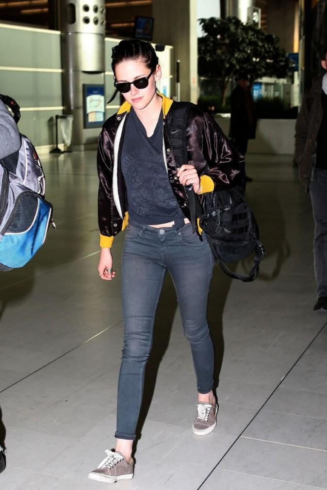 Kristen Stewart vient de débarquer !