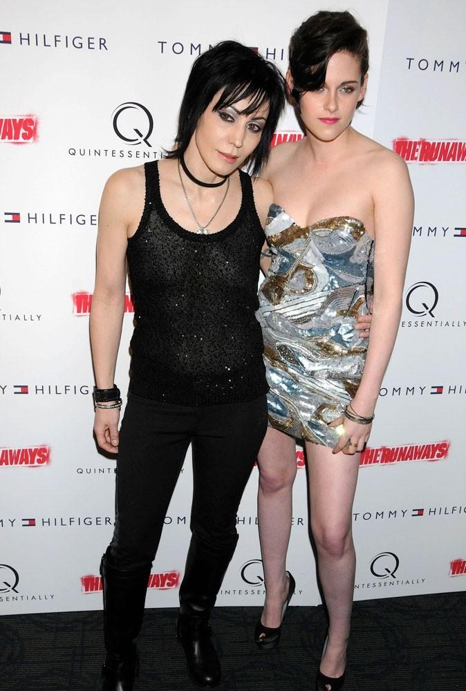 Photos : Kristen Stewart et Joan Jett en 2010