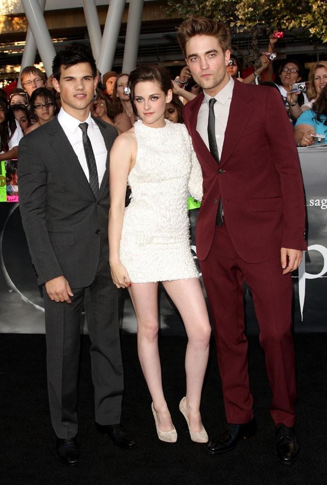 Photos : Kristen Stewart et ses partenaires de Twilight en 2010