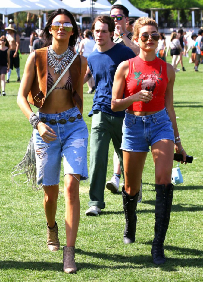 Photos : Kylie et Kendall Jenner : ça y est, elles ont investi Coachella !