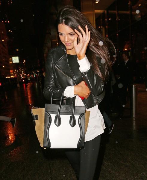 Kendall Jenner à New York, le 5 février 2013.