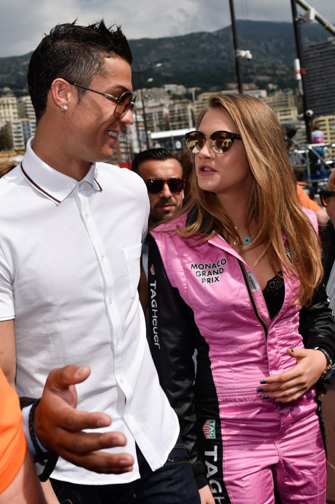 Cara Delevingne et Cristiano Ronaldo le 24 mai 2015