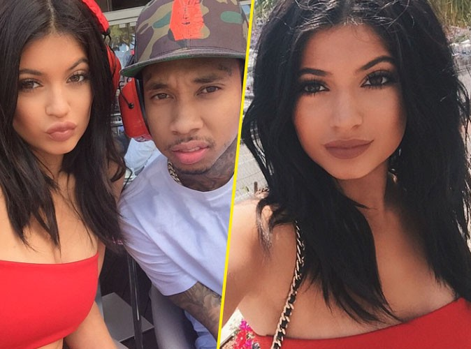 Kylie Jenner et Tyga le 24 mai 2015