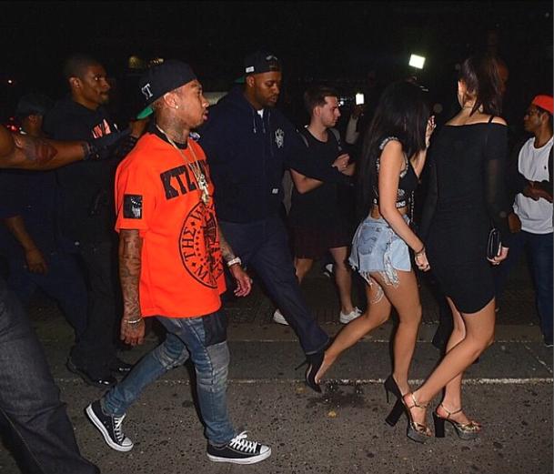 Kylie Jenner et Tyga le 5 mai 2015
