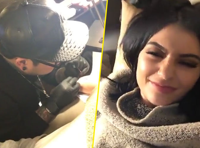 Kylie se fait tatouer