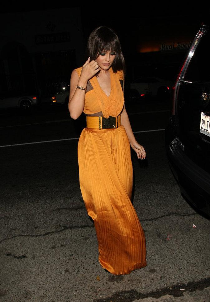 Kylie Jenner à Los Angeles le 2 novembre 2015