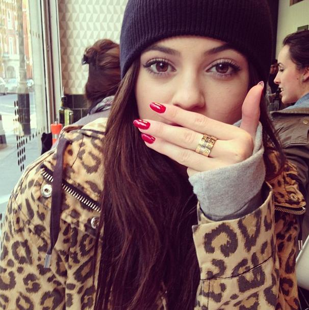 Kylie le 2 mars à Londres