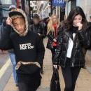Photos : Kylie Jenner et Jaden Smith : de plus en plus proches, ils sont inséparables à Londres !