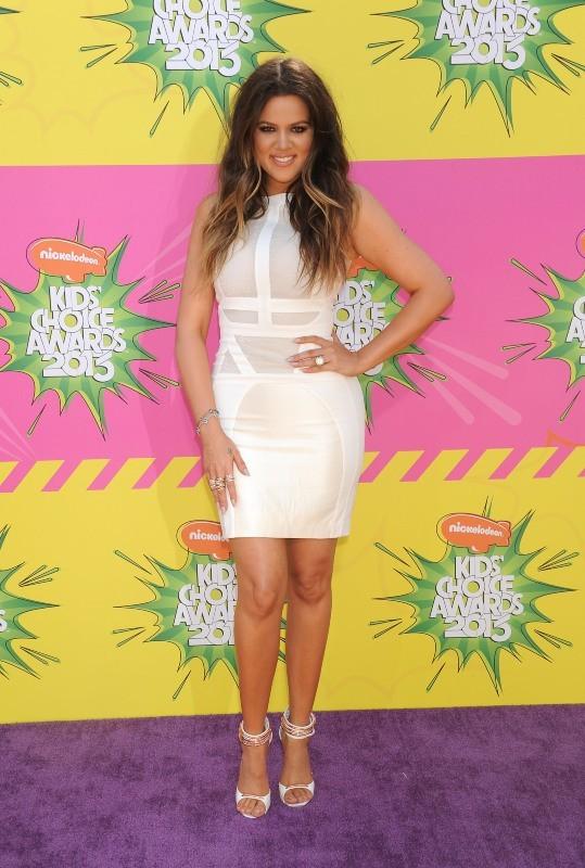Khloe Kardashian, Los Angeles, 23 mars 2013.