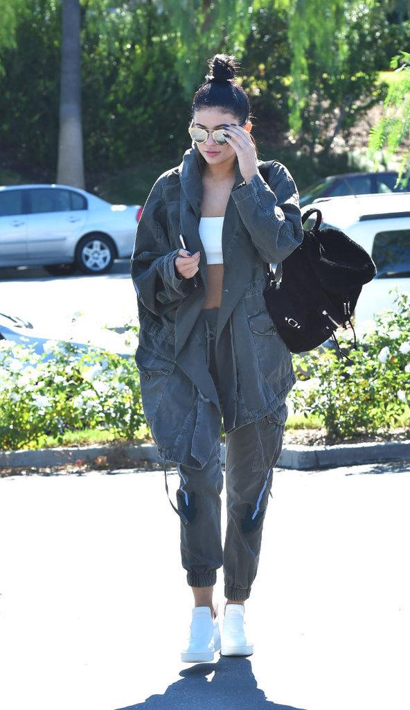 Kylie Jenner à Calabasas le 1er novembre 2015