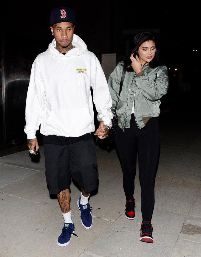 Kylie Jenner et Tyga ne se lâchent plus