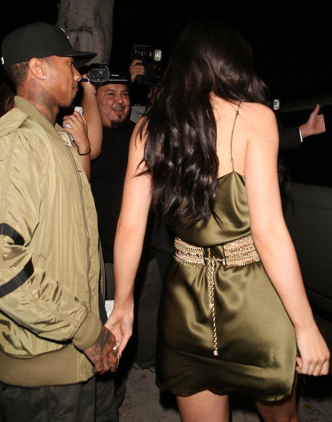 Kylie Jenner et Tyga à Beverly Hills le 1er août 2016