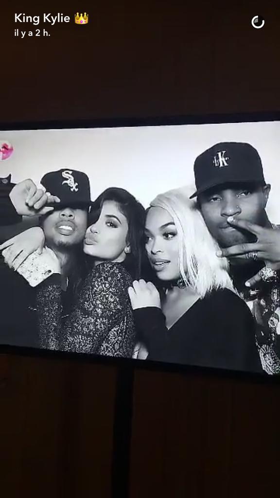 Kylie Jenner et ses amis au Nice Guy Club (Los Angeles) le 31 juillet 2016