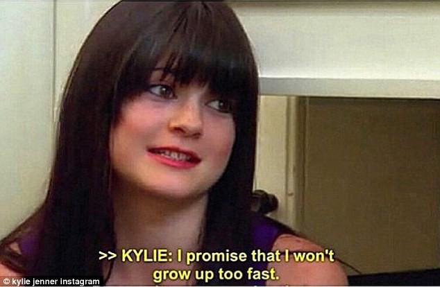 Kylie Jenner dans Keeping Up With the Kardashians