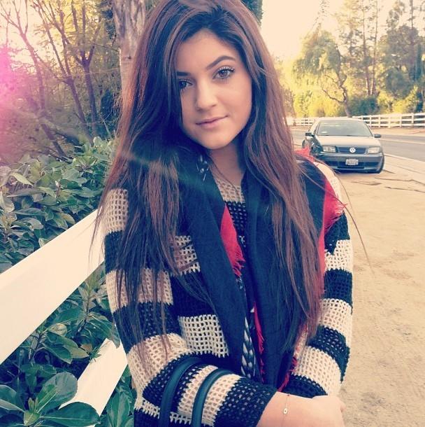 Kylie Jenner le 12 janvier 2013