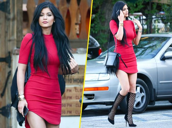 Kylie Jenner : mini-robe �chancr�e pour affoler tout L.A. !