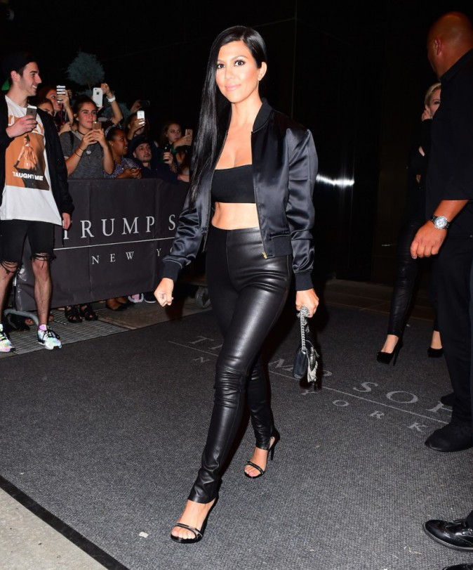 Kourtney Kardashian le 14 septembre 2015