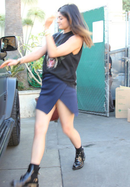 Photos : Kylie Jenner : opération commando pour échapper aux paparazzis !