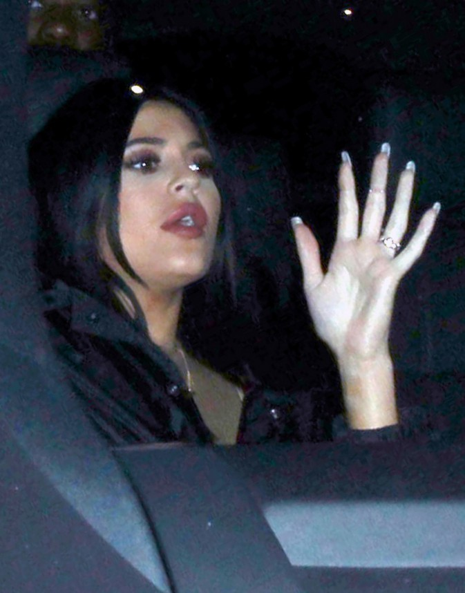 Kylie Jenner le 9 janvier 2015