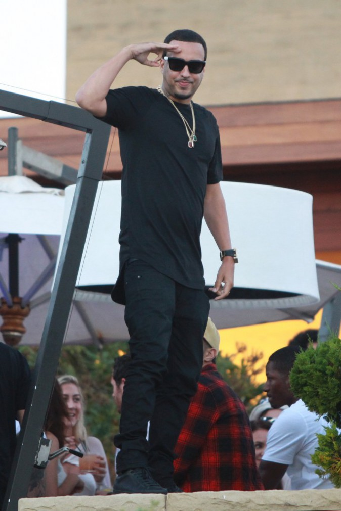 French Montana le 4 juillet 2015