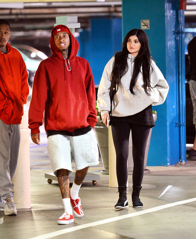 Kylie Jenner, ultra relax pour sa sortie