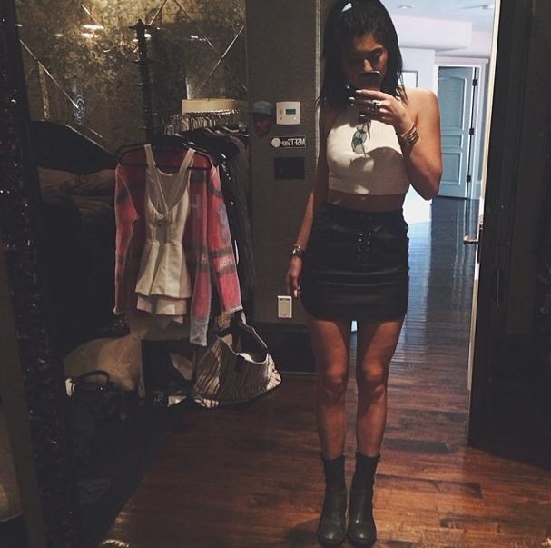 Kylie Jenner le 27 juillet 2014