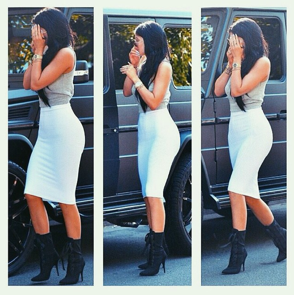 Kylie Jenner le 7 mars 2015