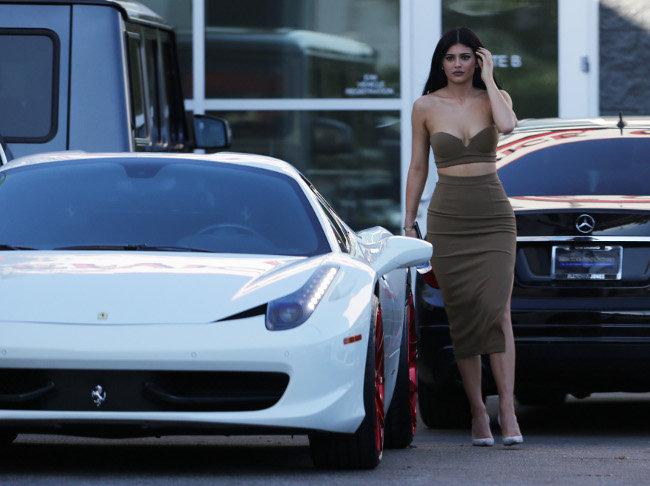 Kylie Jenner à Los Angeles le 13 octobre 2015