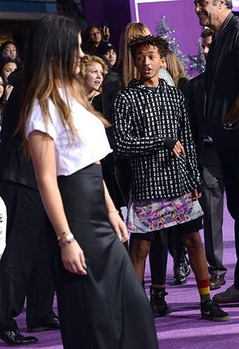 Jaden Smith et Kylie Jenner à Los Angeles le 18 décembre 2013