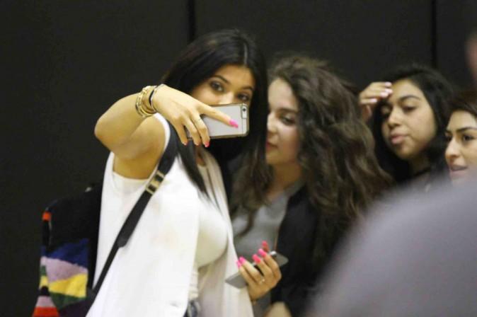 Kylie Jenner : toujours présente (et sexy) pour soutenir son homme !
